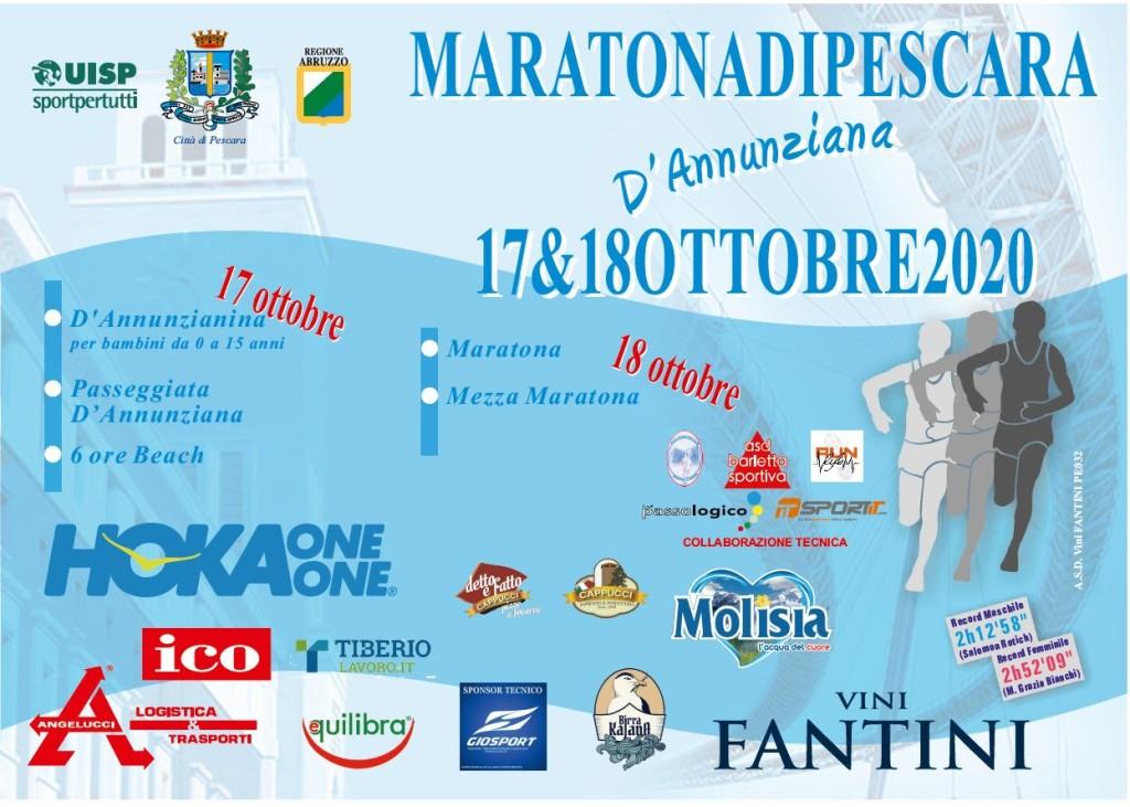 Volantino Maratona Pescara 2020