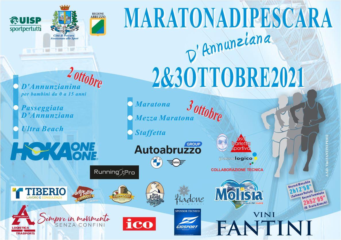 Volantino Maratona Pescara 2021